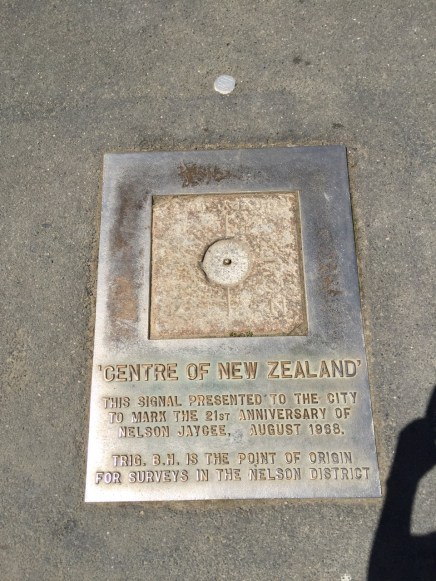 The very centre of NZ!