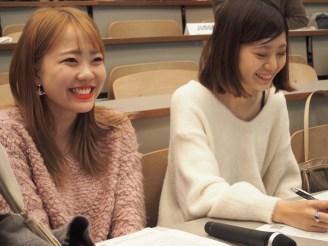 Our MCs - Reina & Yuika