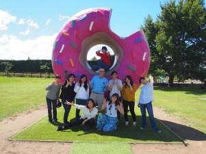 Huge doughnut!
