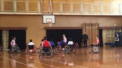 Photo of International Wheelchair Basketball Volunteers