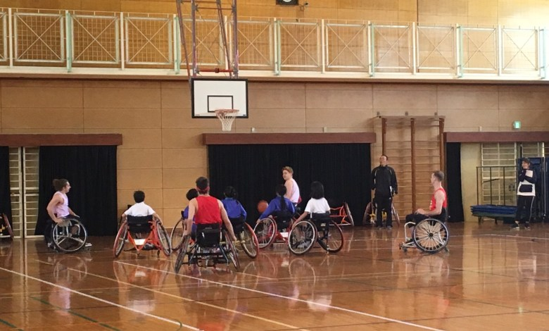 Photo of International Wheelchair Basketball Volunteers