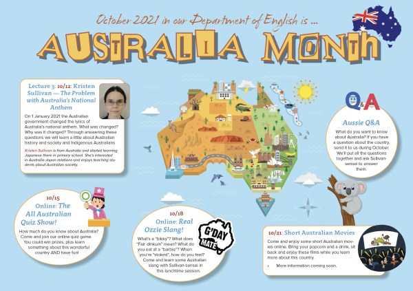 Australia Month Poster