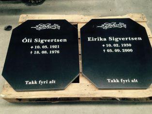 Gravplátur_-_Sigvertsen