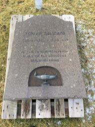Gravsteinur Skálavík
