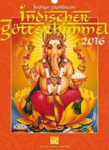 Indischer Götterhimmel kalender 2016
