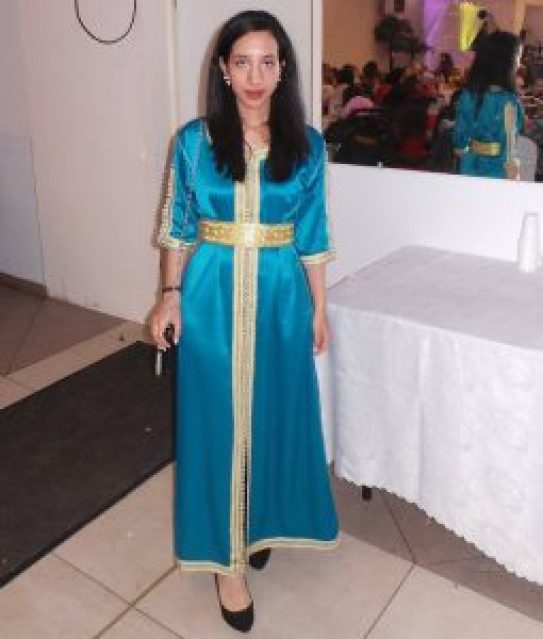 caftan collection bleu