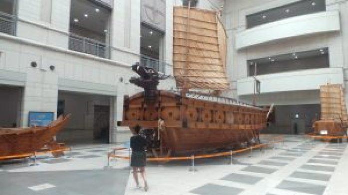 bateau - war memorial of korea
