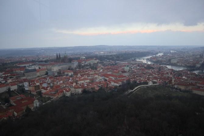 vue de la tour de petrin