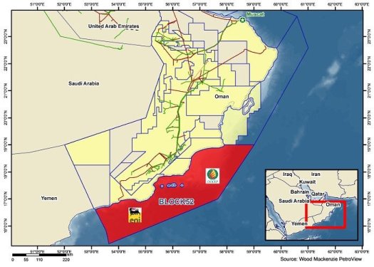 Eni Signs Deal For Block 52 Offshore Oman Seis News