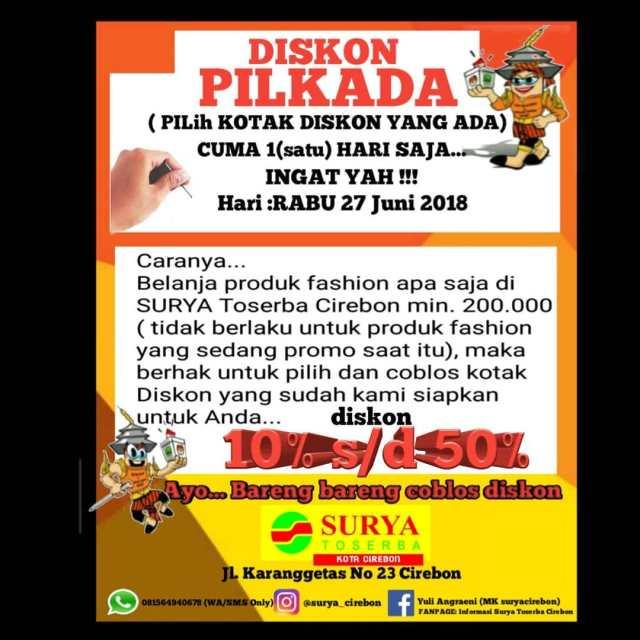 Promo Surya Toserba Cirebon
