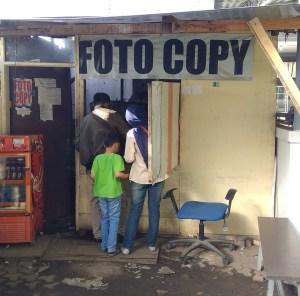 Tempat fotokopi SAMSAT Bandung Timur
