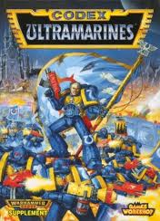 Ultramarines Codex; its what started IT ALLPhoto, property of Games Workshop