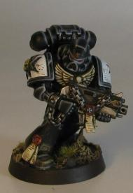 Marine with bolter