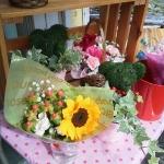 患者さんに送った花束