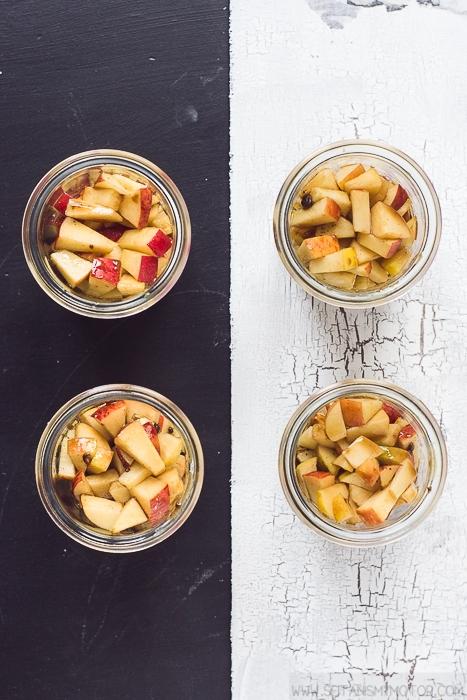 vegan apple crisp | seitanismymotor.com