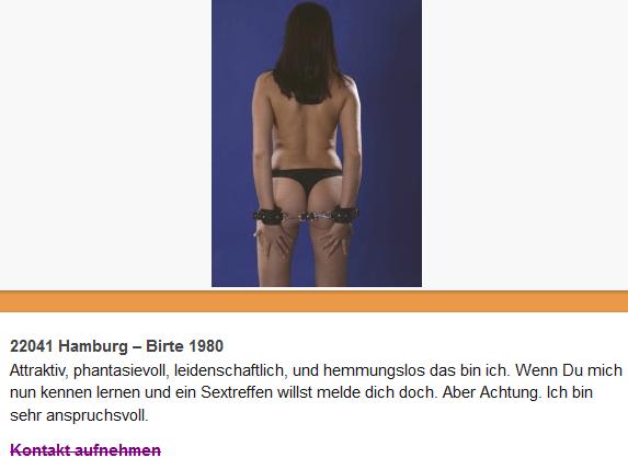 sexkontakte hamburg privat sex saarland
