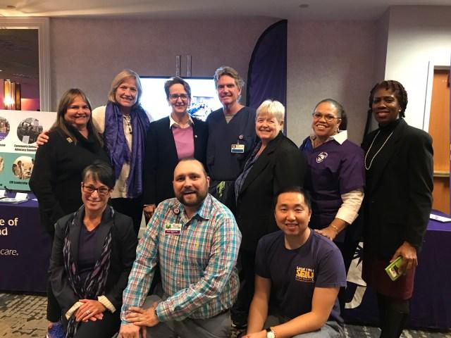Mary Kay Henry, Martha and Board at SEIU IEB Reception, 1-17-18