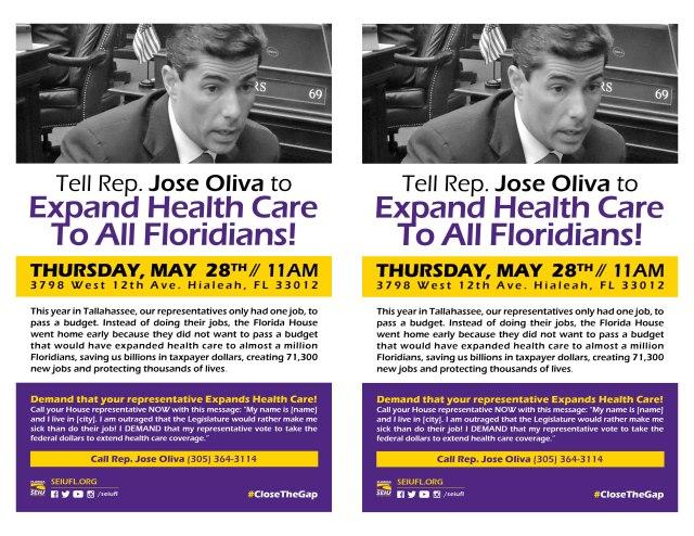Exp Health Miami May 28 Flyer