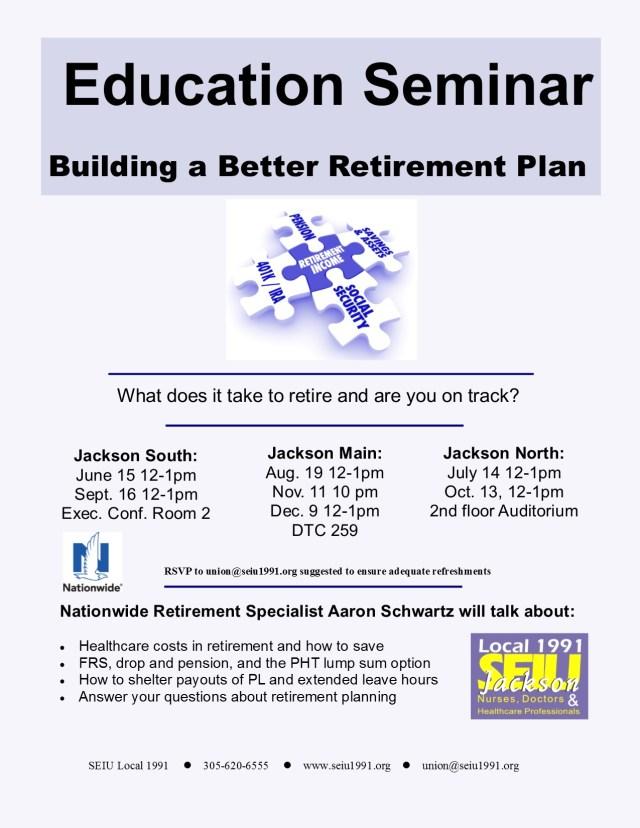 Retirement Seminar2015