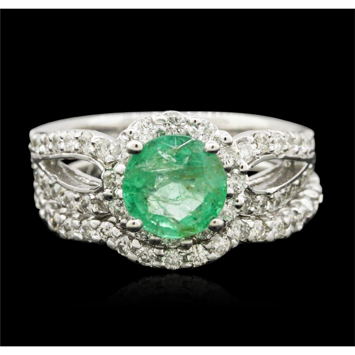 Jewelry Auction  Two Stunning Emerald Rings  Seized