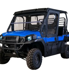 framed 1 2 upper door kit kawasaki mule pro fx fxt [ 1951 x 1296 Pixel ]