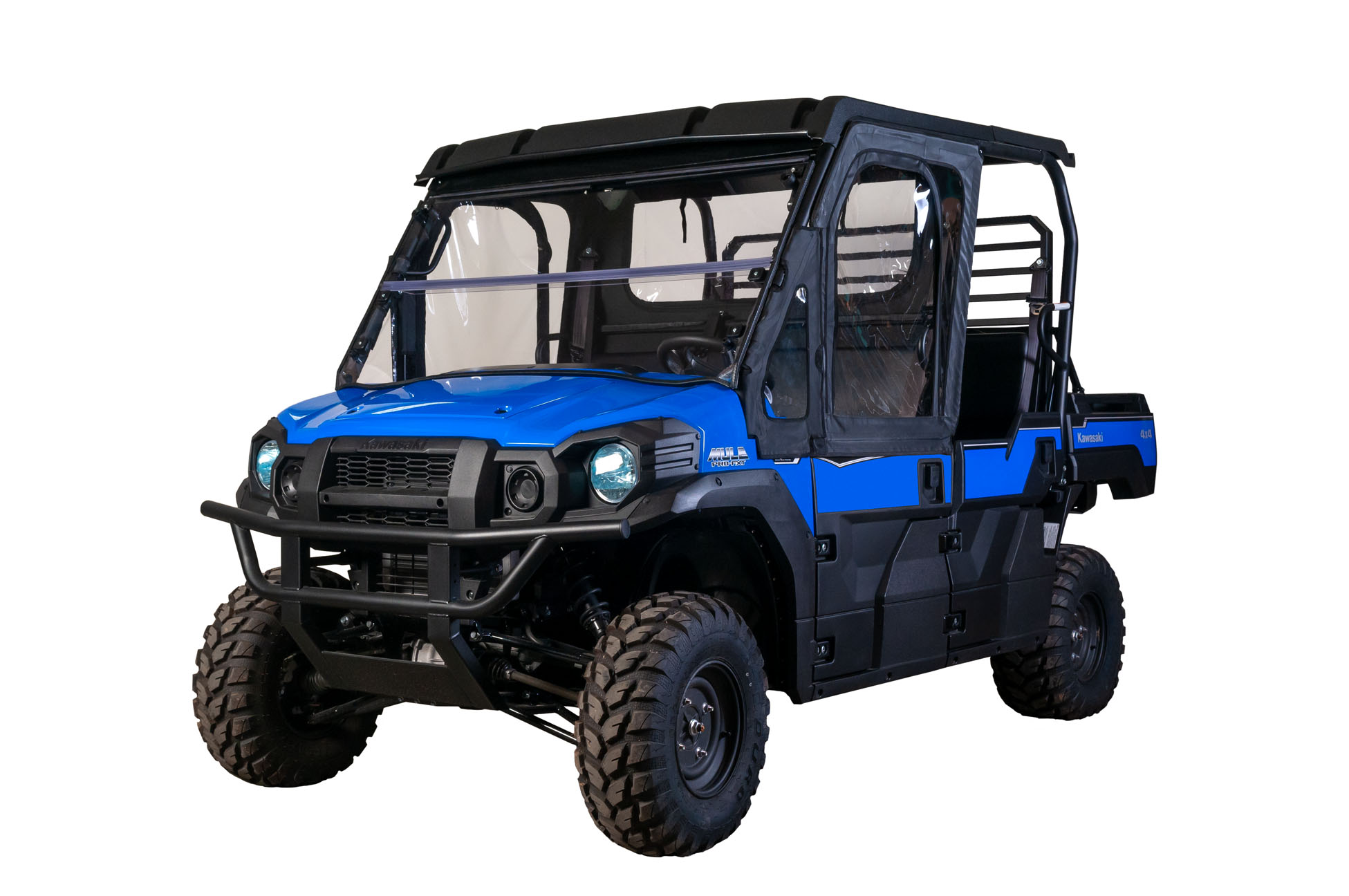 hight resolution of framed 1 2 upper door kit kawasaki mule pro fx fxt