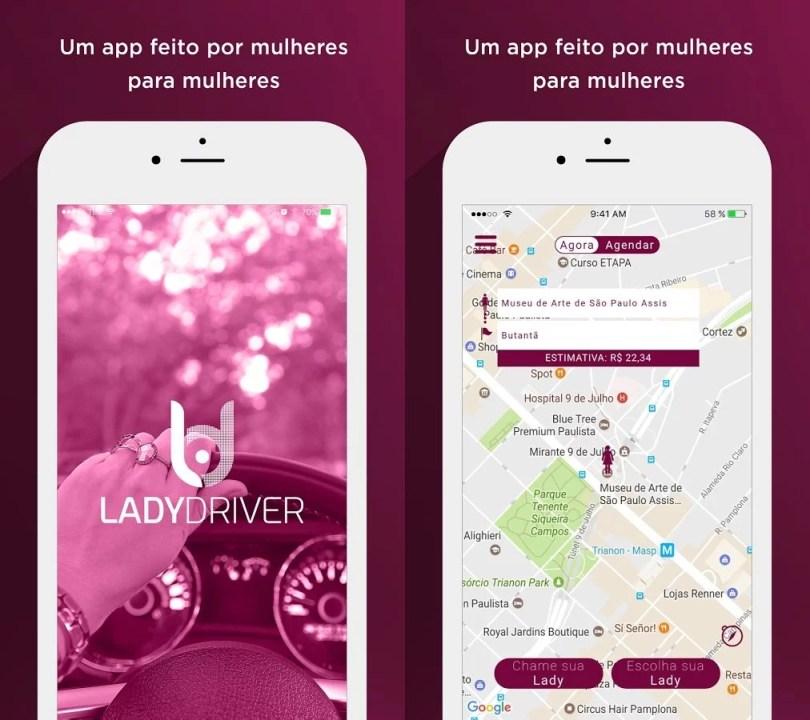 """Lady Driver: Um """"Uber"""" de mulheres para mulheres 1"""