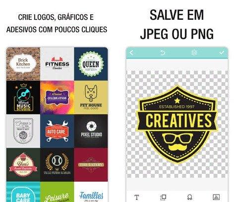 Top 5: Apps para criação de Logomarcas 2