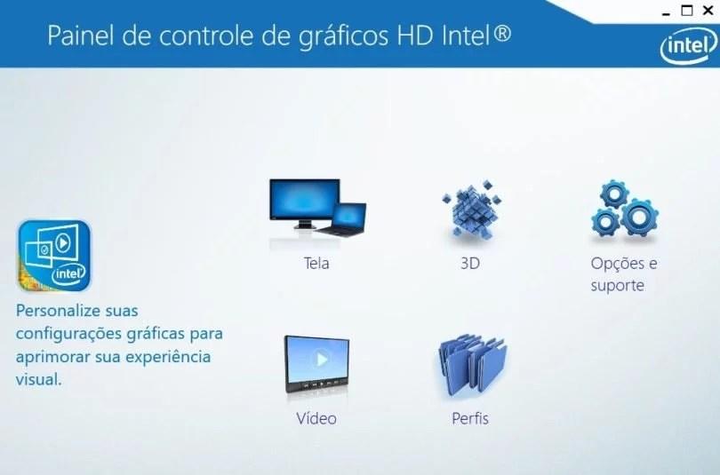 Painel Gráfico da Intel ganha atualização no Windows 1