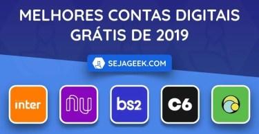 Melhores Contas Digitais Grátis de 2019