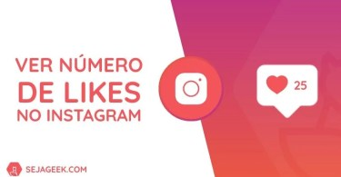 Ver o número de likes no Instagram