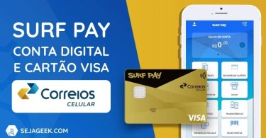 Conta Digital Surf Pay