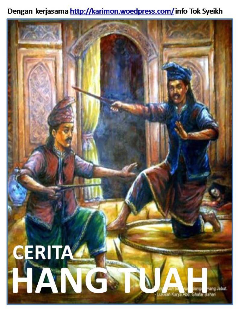 Cerita Hang Tuah  Sejarah Hang Tuah