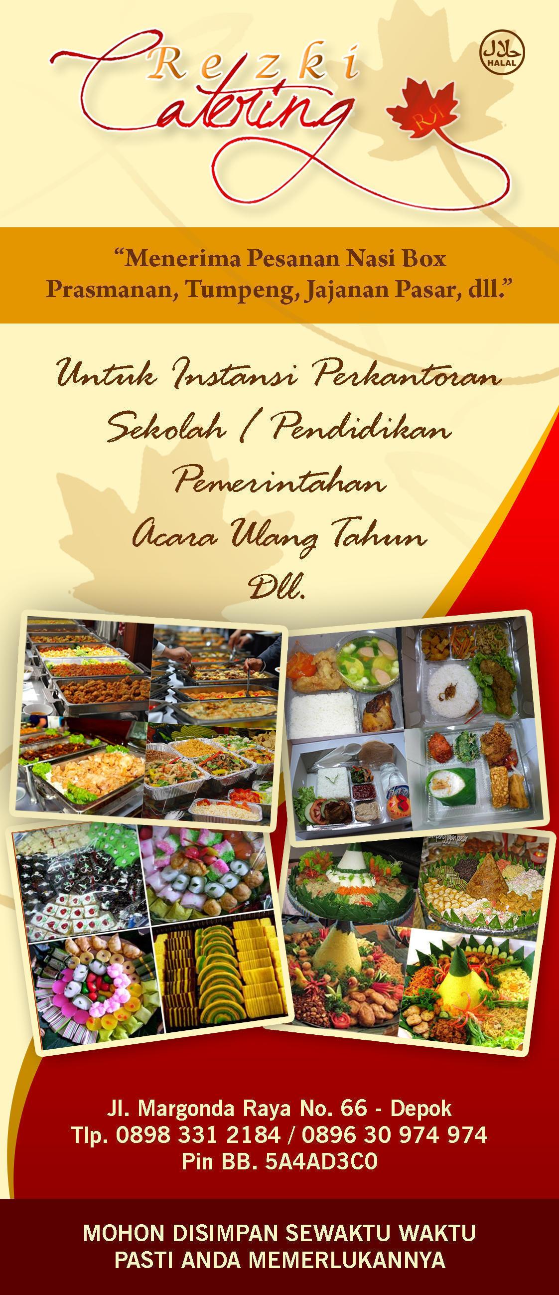 Contoh Brosur Catering : contoh, brosur, catering, Brosur, Catering, Harian, Pigura