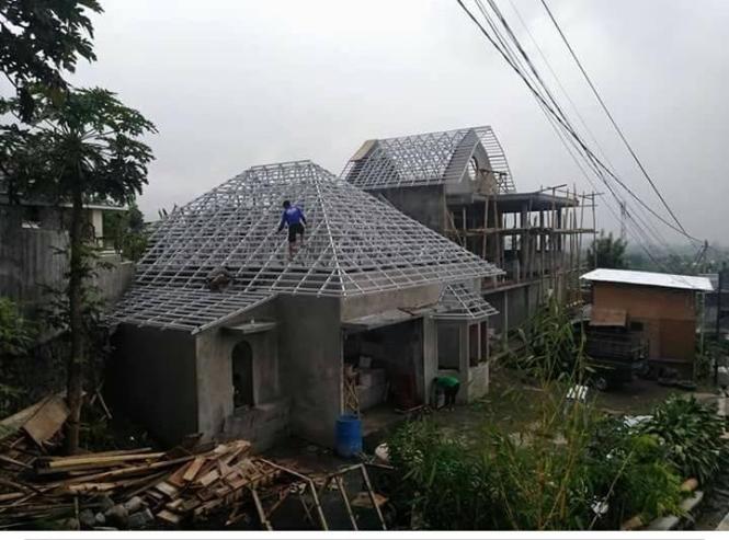 Spesialis  Pasang Rangka Atap Baja Ringan  Luwuk  - Tlp.0852.9943.6981