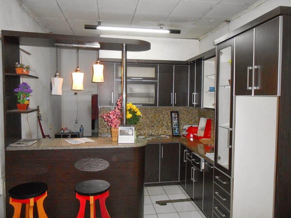 Pembuatan Kitchen Set Modern   Karangasem