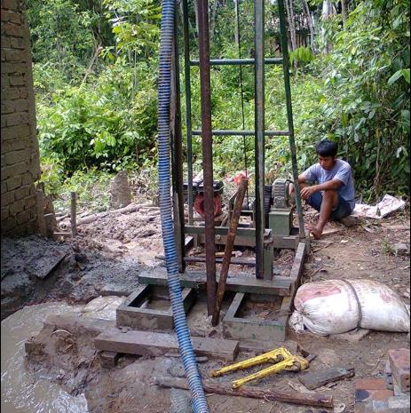 Tukang Sumur Bor di Tutuyan