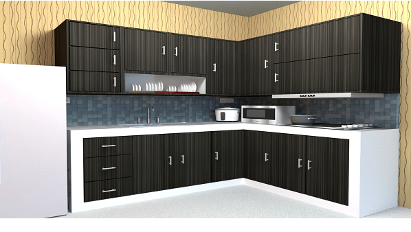 Tukang Pembuat Kitchen Set Minimalis   Taliwang