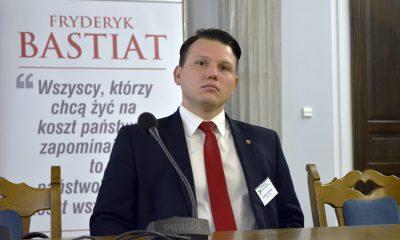 Sławomir Mentzen/Fot. SejmLog Media