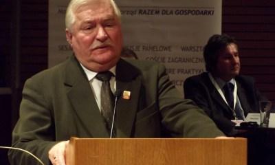 Lech Wałęsa/fot. Piotr Drabik/Wikimedia Commons/CC BY 2.0