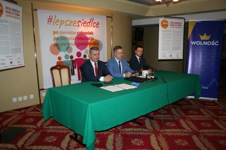 Paweł Wyrzykowski/konferencja #LepszeSiedlceq
