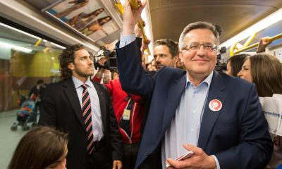 Bronisław Komorowski/fot. oficjalny profil polityka na Facebook