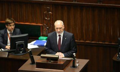 Antoni Macierewicz/fot. Krzysztof Białoskórski/Kancelaria Sejmu