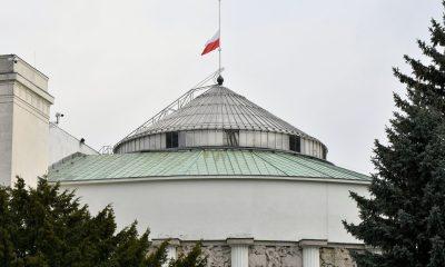 Żałoba Narodowa/Sejm RP/Fot. Kancelaria Sejmu/Łukasz Błasikiewicz