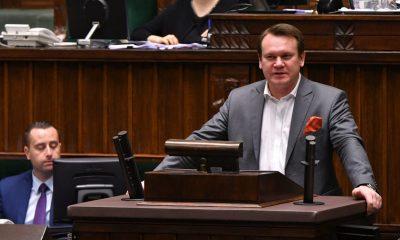 Dominik Tarczyński/Fot. Łukasz Błasikiewicz/Kancelaria Sejmu RP/CC BY 2.0/Flickr