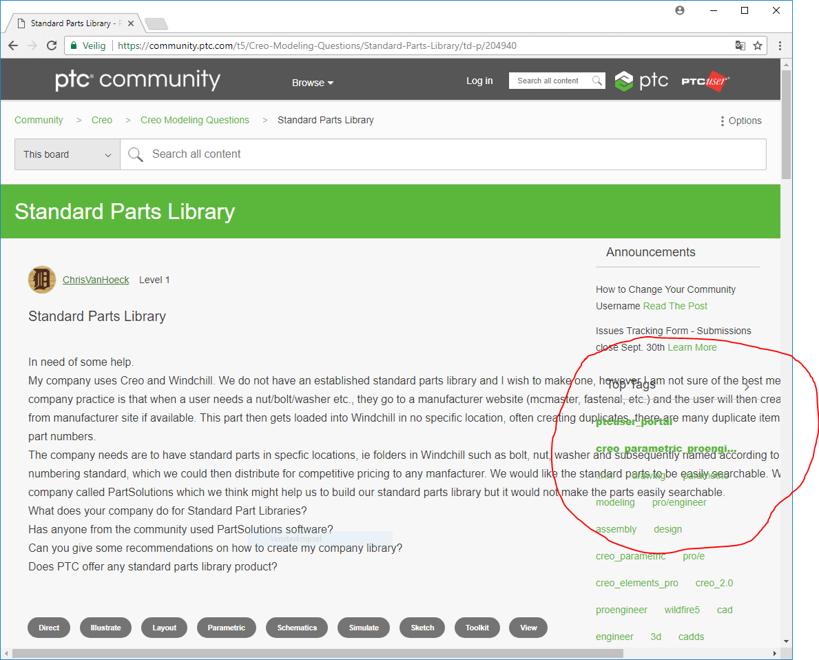 Indented comments - PTC Community