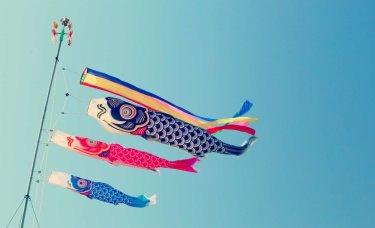 鯉のぼりの折り紙での簡単な作り方!風車付きで立体感のある本格的な飾りに