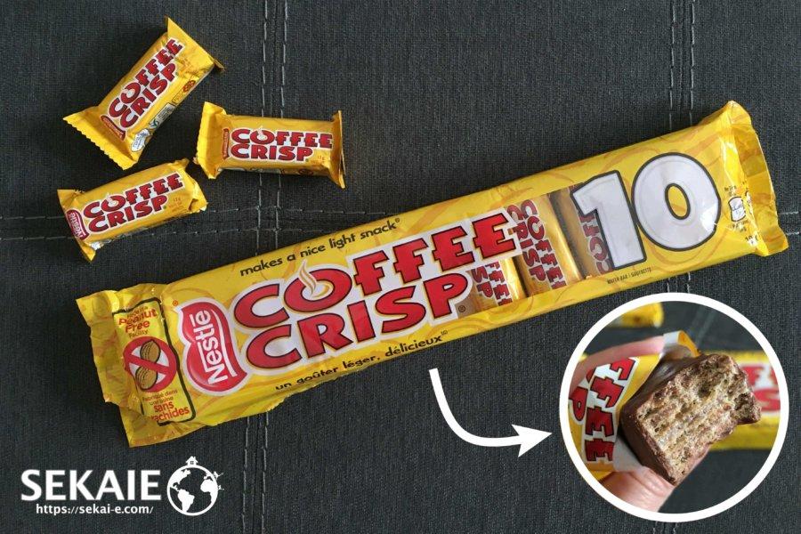 COFFEE CRISP、チョコレート
