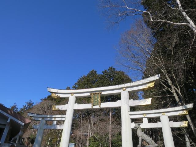 三峯神社 鳥居