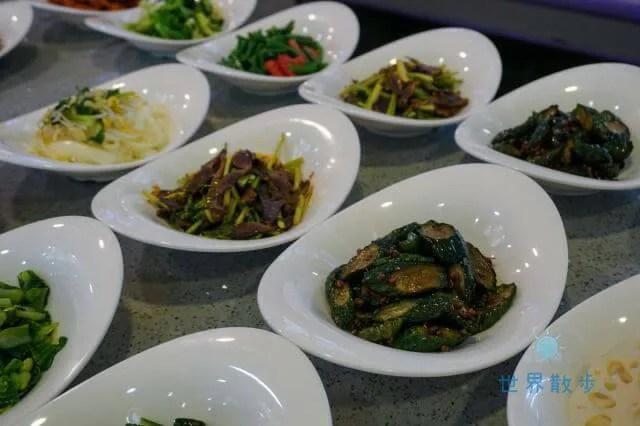 德发长饺子馆の冷菜